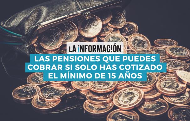 Cotizar el mínimo a la Seguridad Social da derecho al cobro de varias pensiones.