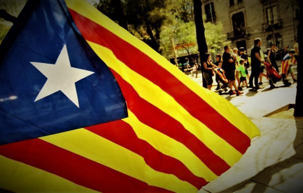Estelada catalana.