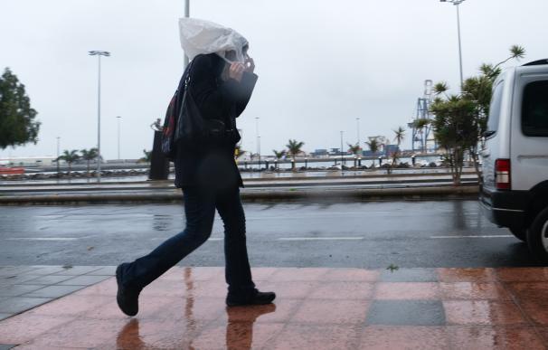 Viento lluvia España tiempo frío