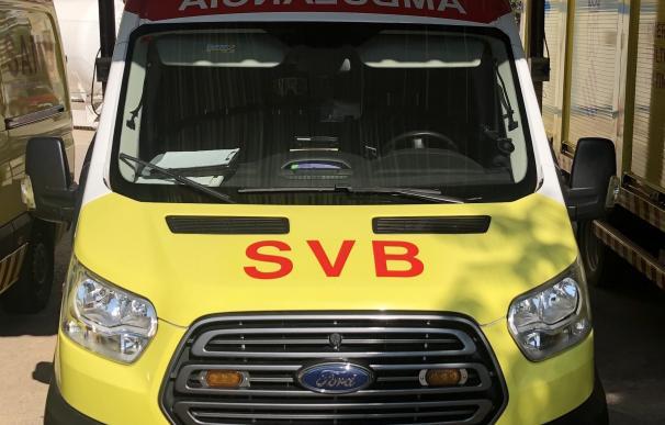 Una ambulancia de SVB en imagen de archivo CICU (Foto de ARCHIVO) 1/10/2020