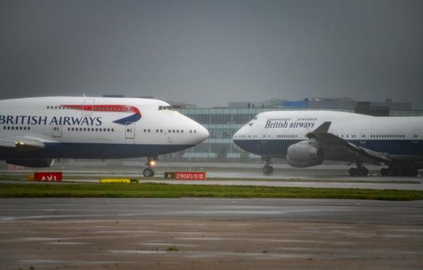 Los dos últimos 747 de British Airways. BRITISH AIRWAYS (Foto de ARCHIVO) 8/10/2020