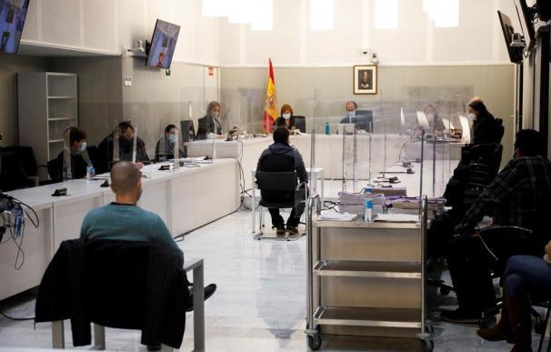 Vista del interior de la Sala de lo Penal de la Audiencia Nacional de Madrid