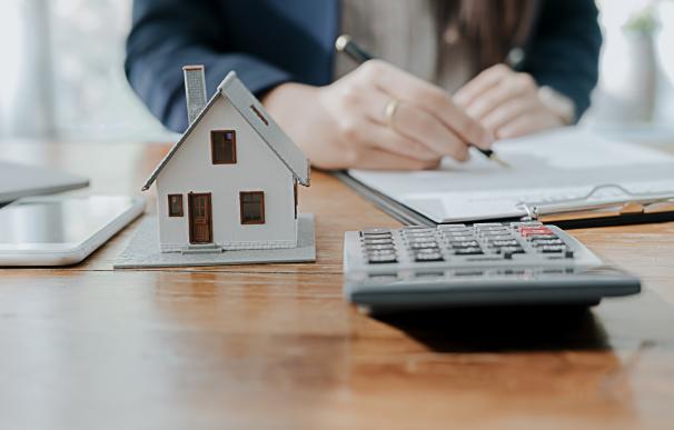 Casa, hipoteca, firma