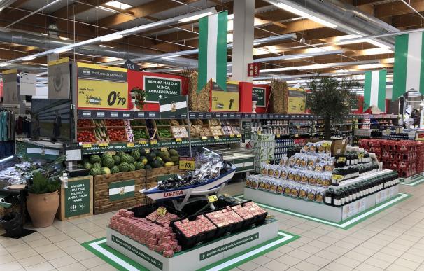 Productos andaluces en Carrefour CARREFOUR (Foto de ARCHIVO) 11/6/2020