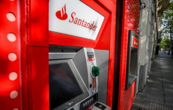 Cajero Banco Santander