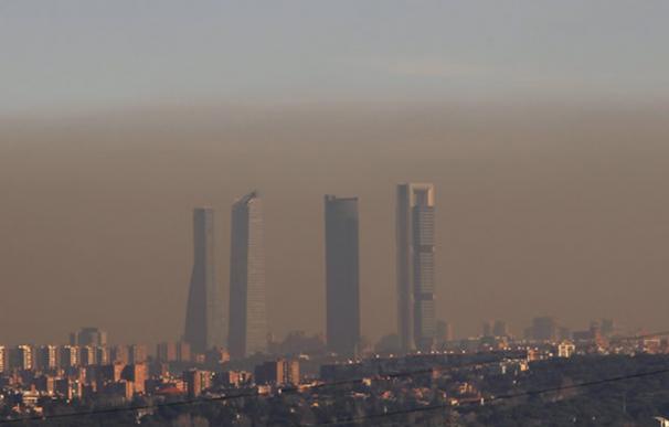 Madrid contaminación boina cuatro torres