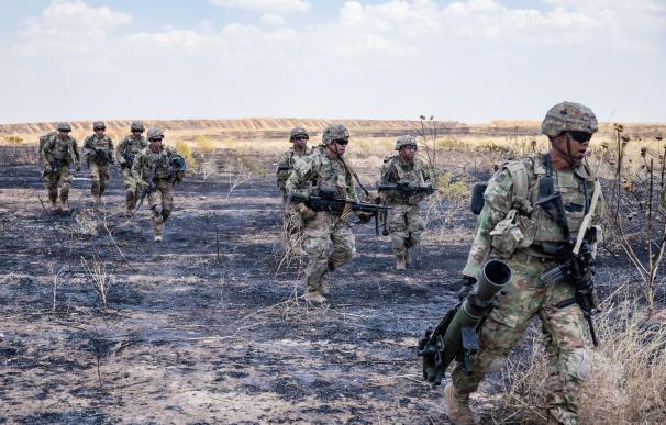 Militares estadoundienses en Irak COMBINED JOINT TASK FORCE - OPER (Foto de ARCHIVO) 19/6/2019