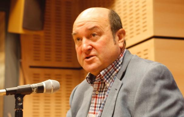El presidente del EBB del PNV, Andoni Ortuzar, en Onda Vasca PNV (Foto de ARCHIVO) 28/9/2020