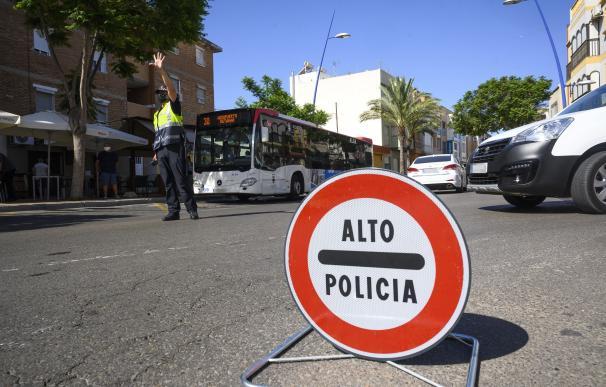 Control policial para vigilar que se cumplan las normas sobre el Covid AYTO. ALMERÍA (Foto de ARCHIVO) 14/8/2020