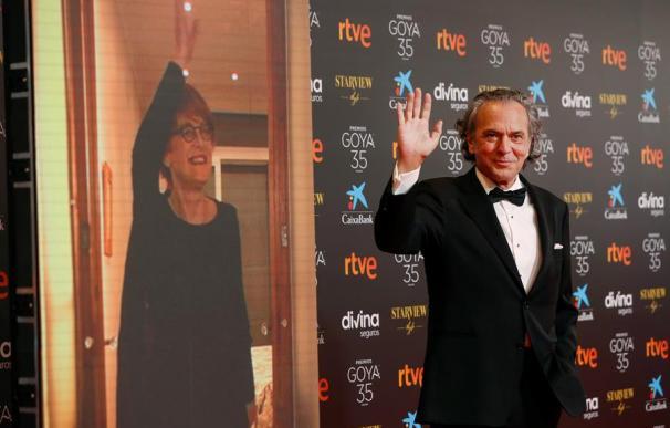 El actor José Coronado a su llegada