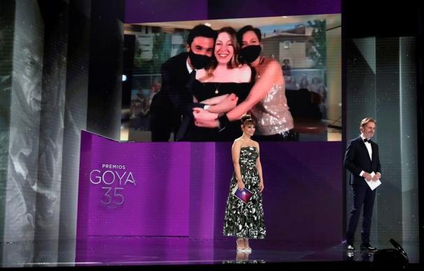 La directora Pilar Palomero recibe el Goya al Mejor Guión Original