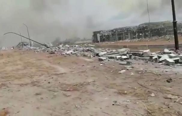 Registradas una serie de explosiones de gran potencia en Bata, centro económico de Guinea Ecuatorial