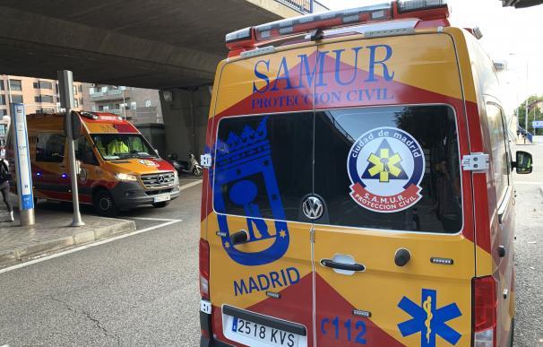 Imagend e archivo de una ambulancia de Samur Protección Civil EUROPA PRESS (Foto de ARCHIVO) 22/9/2019
