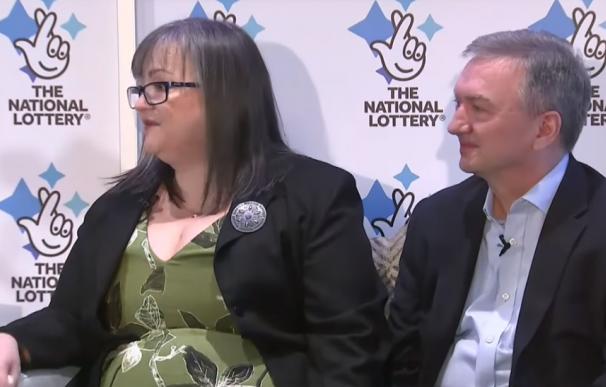 Frances y Patrick Connolly, ganadores del Euromillones en 2019.