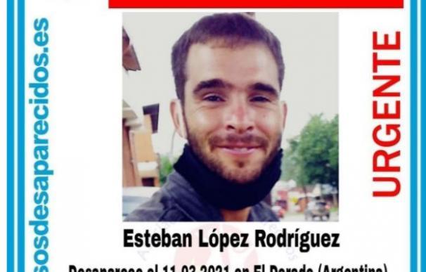 Esteban López desaparecido