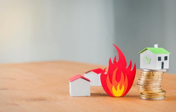 Incendio vivienda, casa