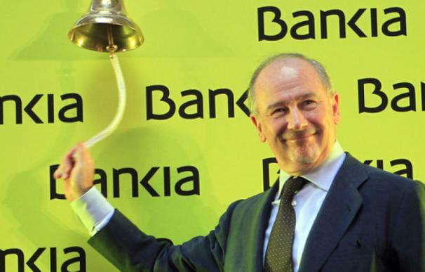 Debut de Bankia en Bolsa con Rodrigo Rato