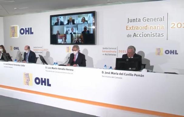 Junta general extraordinaria de OHL OHL 26/3/2021
