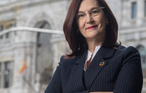 La presidenta de la Comisión Nacional de los Mercados y la Competencia (CNMC), Cani Fernández.