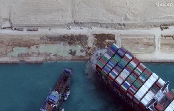 Canal de Suez buque Mr Even Given