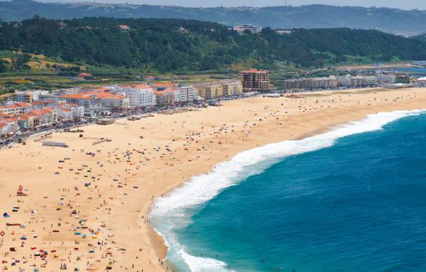 Nazaré, uno de los mejores lugares de Portugal para jubilarse.