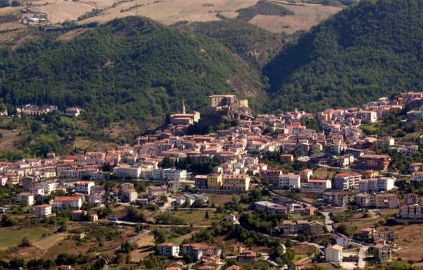 El pueblo italiano de Laurenzana.