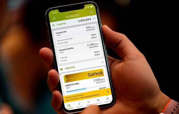 Bankia aplicación móvil