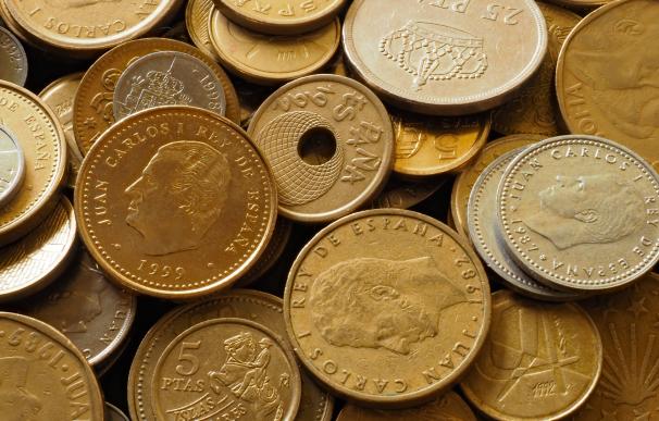 Algunas monedas de peseta valen miles de euros en el mercado del coleccionismo.