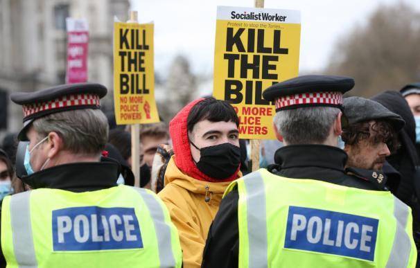 Concentraciones contra la propuesta de una nueva ley de seguridad que podría restringir el derecho a las protestas.
