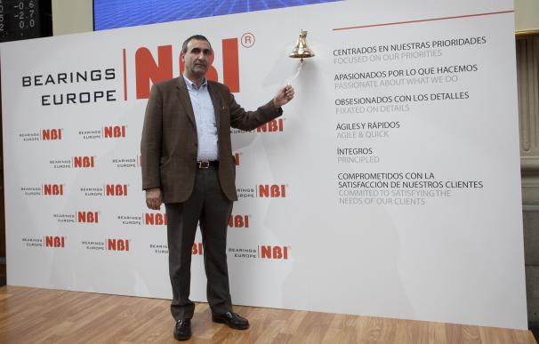 Roberto Martínez de la Iglesias, primer ejecutivo y accionista de NBI Bearings.