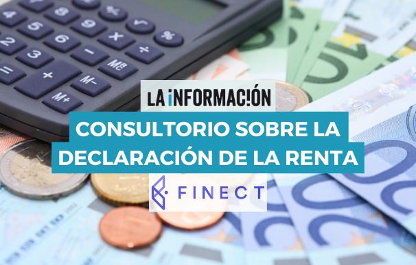 El consultorio de la declaración de la Renta de La Información y Finect.