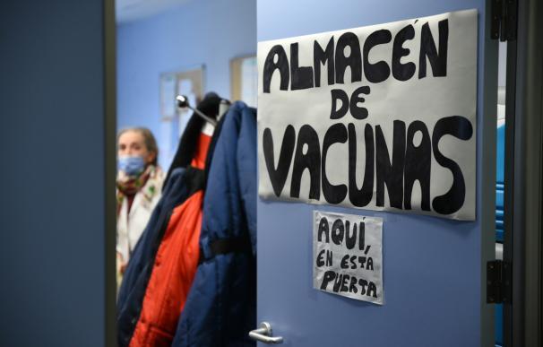 Almacen de las vacunas