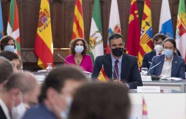 María Jesús Montero en la Conferencia de Presidentes autonómicos