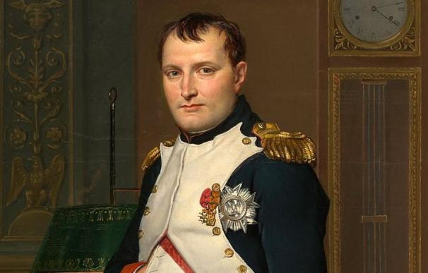 Napoleón I pintado por Jacques-Louis David.