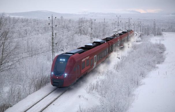 13/04/2021 Diseño de los trenes de CAF en Suecia ECONOMIA EUROPA SUECIA CAF