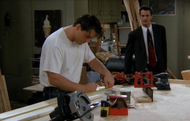 Joey y Chandler en Friends