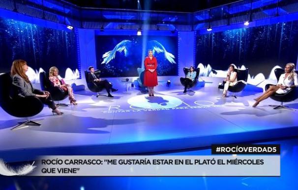 Rocío Carrasco entra en directo en Telecinco
