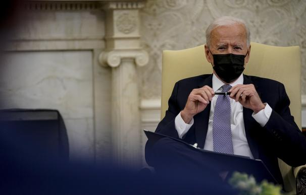 El presidente de Estados Unidos, Joe Biden AMR ALFIKY / ZUMA PRESS / CONTACTOPHOTO 14/4/2021 ONLY FOR USE IN SPAIN