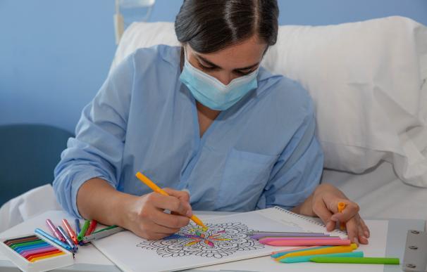 Paciente con mascarilla IVA exenciones mascarillas