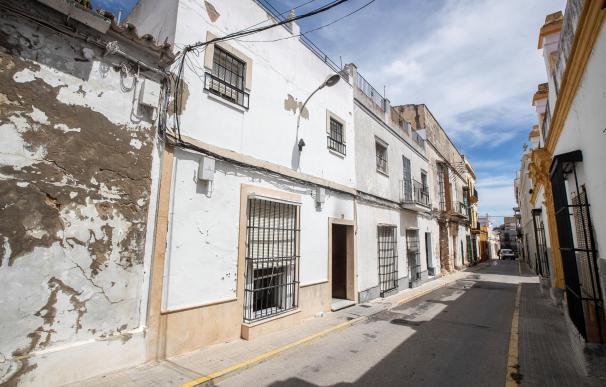 Fachada de la viviendade la calle Durango en El Puerto de Santa María