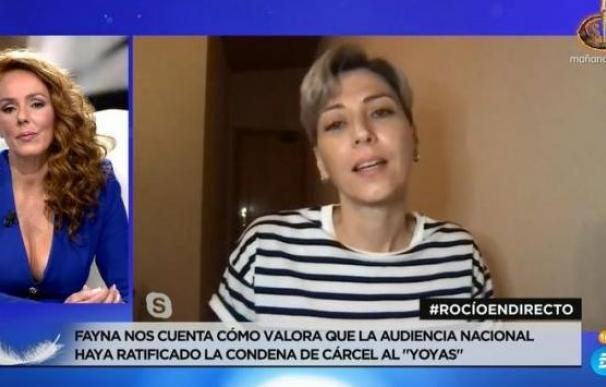 Fayna a Rocío Carrasco