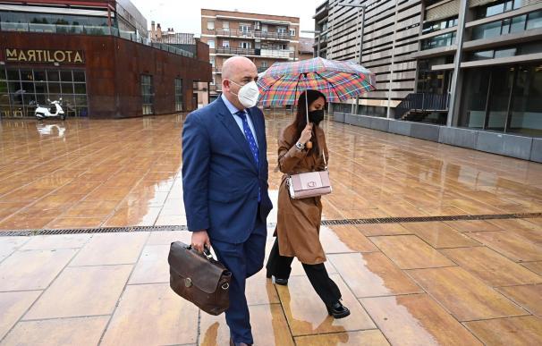 El letrado Juan Manuel Molina, abogado de las familias de las víctima