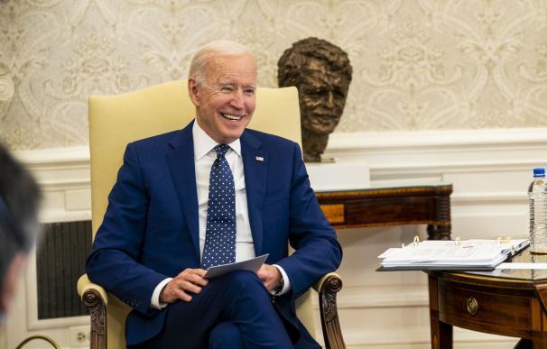 Joe Biden en su despacho