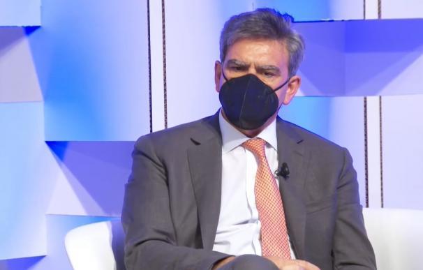 El consejero delegado de Banco Santander, José Antonio Álvarez,