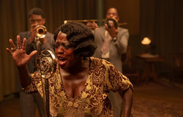Viola Davis es Ma Rainey en La madre del blues