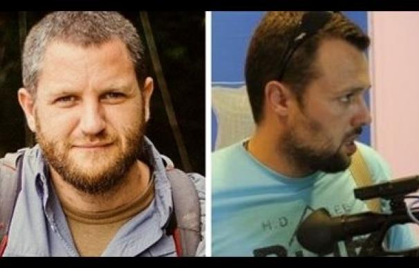 David Beriain (izquierda) y Roberto Fraile. reporteros sin fronteras