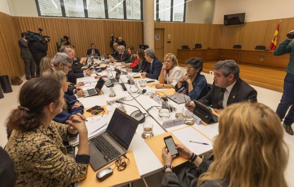 Vista general del pleno del Consejo General del Poder Judicial (CGPJ), en Pontevedra/Galicia (España), a 30 de enero de 2020. 30 enero 2020, justicia, reunión Beatriz Ciscar / Europa Press (Foto de ARCHIVO) 30/1/2020