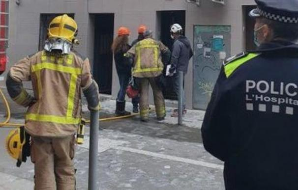 bomberos l'Hospitalet incendio