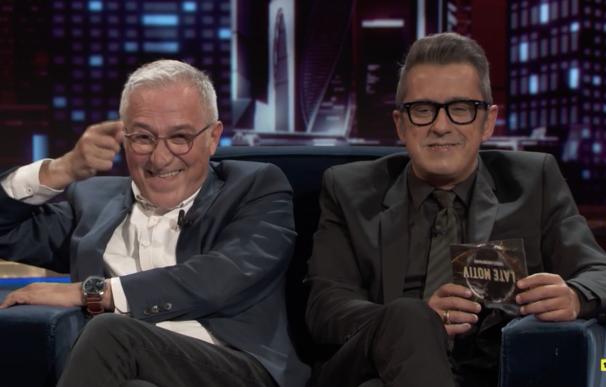 Javier Sardá y Andreu Buenafuente, bien juntos, en 'Late Motiv'