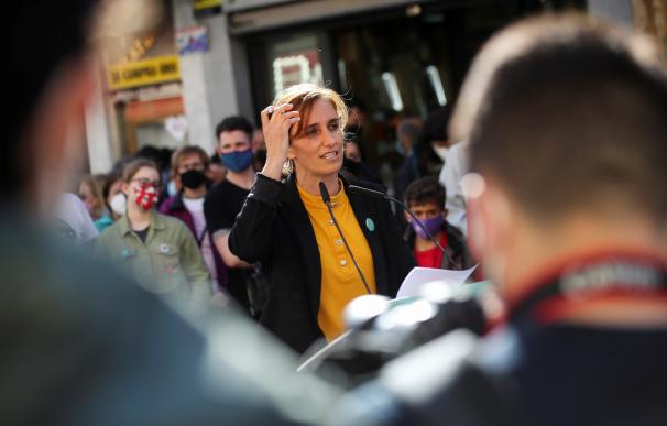La candidata de Más Madrid a la presidencia madrileña, Mónica García